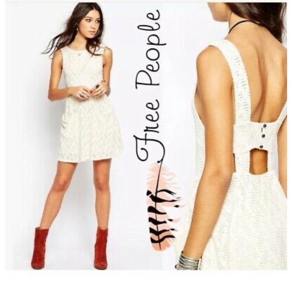 Free People Dresses & Skirts - Free people cream dress